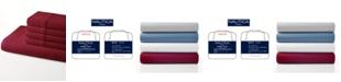 Nautica Jersey Knit Solid Twin Sheet Set
