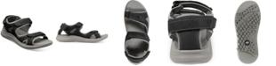 Nunn Bush Men's Rio Vista Three Strap River Sandals