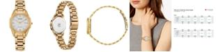 Citizen Eco-Drive Women's Corso Gold-Tone Stainless Steel Bracelet Watch 28mm