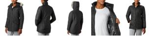 Columbia Women's Carson Pass 3-In-1 Hooded Faux-Fur-Trim Coat