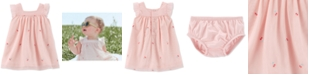 Carter's Baby Girls Embroidered Cherry Tulle Dress