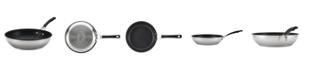 "Circulon Innovatum Stainless Steel Nonstick 12.5"" Deep Skillet"