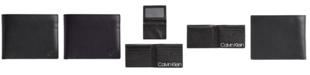 Calvin Klein Men's Removable Passcase Leather Wallet