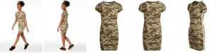 Epic Threads Big Girls Camo Side-Tape Dress, Created for Macy's