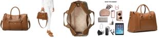 Michael Kors Carine Leather Medium Satchel