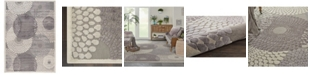 """Long Street Looms Chimeras CHI04 Gray 6'7"""" x 9'6"""" Area Rug"""