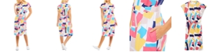 Lacoste Printed Shirt Dress
