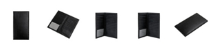 CHAMPS Genuine Leather Vertical Card Holder