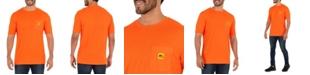 Wells Lamont Men's Short Sleeve Jersey Plaited Performance Pocket Tee