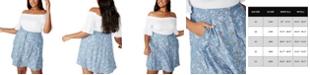 COTTON ON Trendy Plus Size Allegra Button Through Mini Skirt