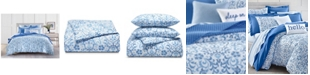 Charter Club Filigree 300-Thread Count Full/Queen Comforter Set, Created for Macy's