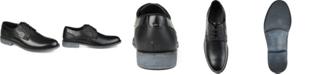 Vance Co. Alston Men's Textured Plain Toe Derby Shoe