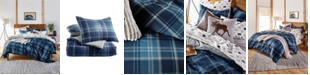G.H. Bass & Co. Heartland Plaid Cotton Flannel Reversible Full/Queen Comforter Set