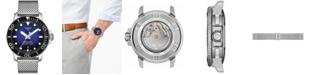 Tissot Men's Swiss Automatic Seastar 1000 Stainless Steel Mesh Bracelet Watch 43mm