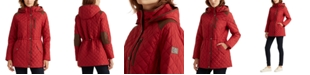Lauren Ralph Lauren Quilted Hooded Anorak Coat