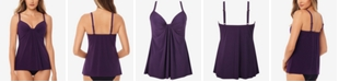 Miraclesuit So Riche Marina Underwire Tankini Top, Created for Macy's