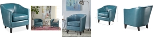 Furniture Lawson Faux Leather Accent Chair