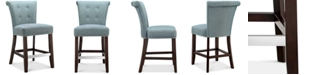 Madison Park Riker Counter Stool, Quick Ship