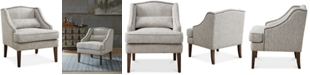 carriage & co. Betty Swoop Arm Accent Chair, Quick Ship