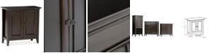 Simpli Home Canton Low Storage Cabinet