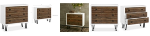 Madison Park Perry 3 Drawer Chest, Quick Ship