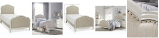 Furniture Harmony Kids Upholstered Twin Bed