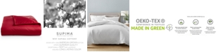 Charter Club CLOSEOUT! King Duvet Cover, 100% Supima Cotton 550 Thread Count, Created for Macy's
