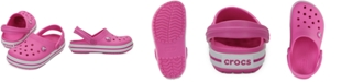 Crocs Crocband Clogs, Baby Girls, Toddler Girls & Little Girls