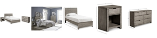 Furniture Tribeca Bedroom Set, 3-Pc. Set (Twin Bed, Dresser & Nightstand), Created for Macy's