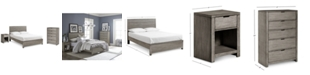 Furniture Tribeca Bedroom Set, 3-Pc. Set (Full Bed, Chest & Nightstand), Created for Macy's