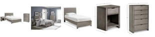 Furniture Tribeca Bedroom Set, 3-Pc. Set (Twin Bed, Chest & Nightstand), Created for Macy's