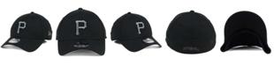 New Era Pittsburgh Pirates Black and Charcoal Classic 39THIRTY Cap