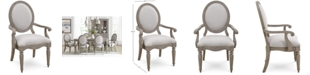 Furniture Elina Upholstered Armchair, Created for Macy's