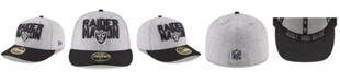 New Era Oakland Raiders Draft Low Profile 59FIFTY FITTED Cap