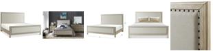 Furniture Parker Upholstered King Bed, Created for Macy's
