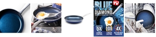"Blue Diamond As Seen on TV! 10"" Open Fry Pan"
