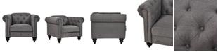 Dwell Home Inc. Sofas 2 Go Elizabeth Chair Charcoal