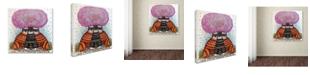 "Trademark Global Oxana Ziaka 'A Cherry Blossom Season' Canvas Art - 14"" x 14"" x 2"""