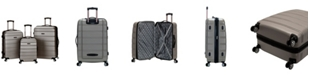 Rockland Melbourne 3-Pc. Hardside Luggage Set