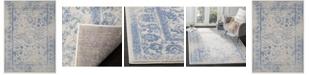 "Safavieh Adirondack Ivory and Light Blue 5'1"" x 7'6"" Area Rug"