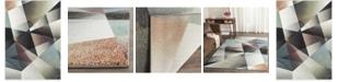 """Safavieh Porcello Gray and Multi 5'3"""" x 7'6"""" Area Rug"""