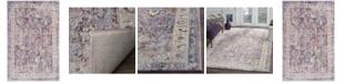 "Safavieh Bristol Lavender and Light Gray 5'1"" x 7'6"" Area Rug"