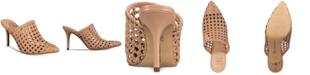 INC International Concepts INC Women's Celestia Woven Mules, Created for Macy's