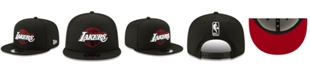 New Era Los Angeles Lakers The Bred Man 9FIFTY Snapback Cap