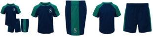 Outerstuff Baby Seattle Mariners Play Strong Short Set