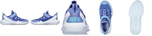 Skechers Little Girls' D'Lites DLT-A Slip-On Casual Sneakers from Finish Line