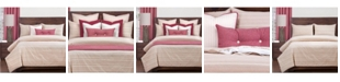 Siscovers Sunwashed Brick Farmhouse 6 Piece Queen Duvet Set