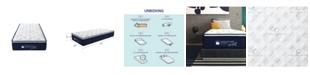 Signature Sleep Reset 12'' Nano bionic Pillow Top Hybrid Mattress, Twin