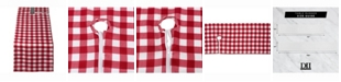 "Design Imports Outdoor Table Runner with Zipper 14"" X 108"""