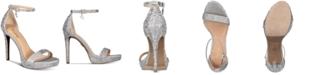 Thalia Sodi Women's Lissy Platform Evening Sandals, Created for Macy's